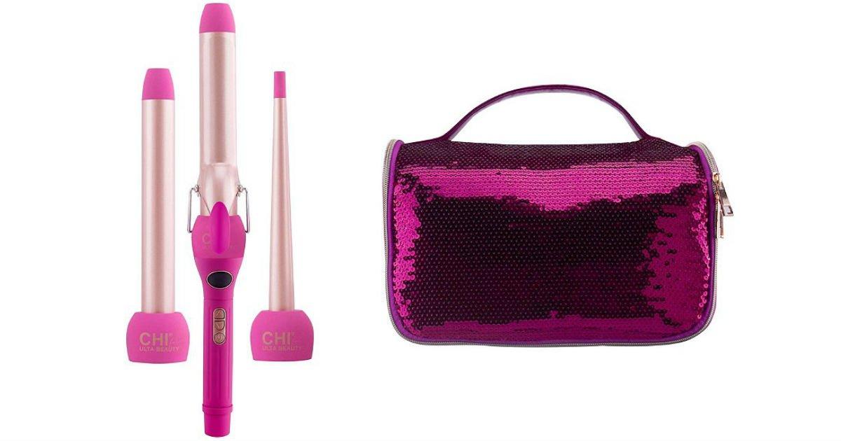 CHI 3-in-1 Styler Curl Kit SOLO $47.99 en ULTA (Reg $100)