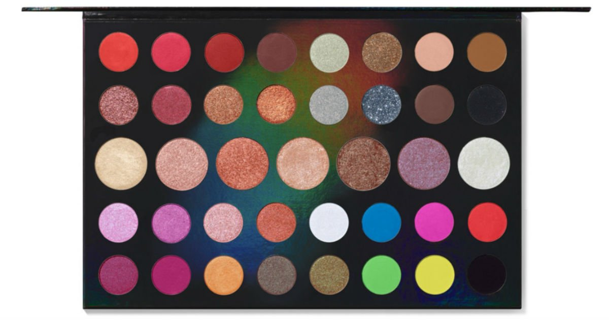Paleta de Sombras Morphe 39L Hit The Lights Artistry SOLO $16 en ULTA (Reg $42)