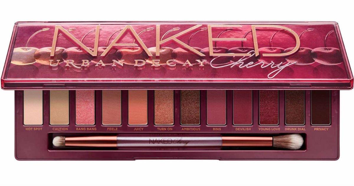 Ulta: Paleta de Sombras Urban Decay Naked Cherry SOLO $29.40 (Reg $49)