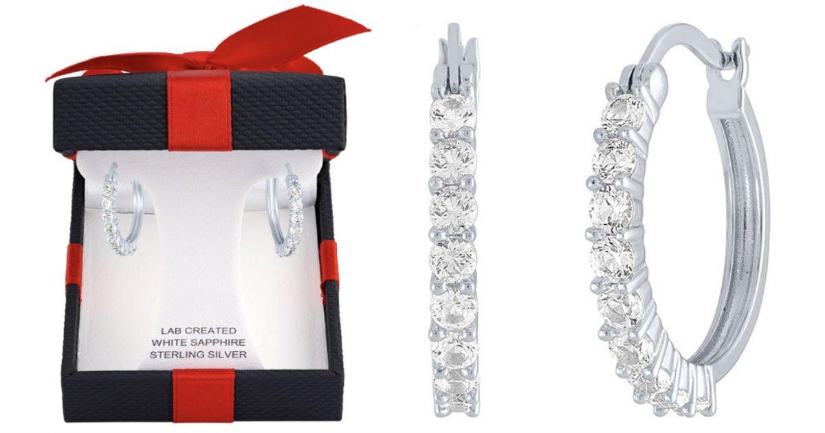 Pantallas de Zafiro Blanco 20mm SOLO $15 en JCPenney (Reg. $75)