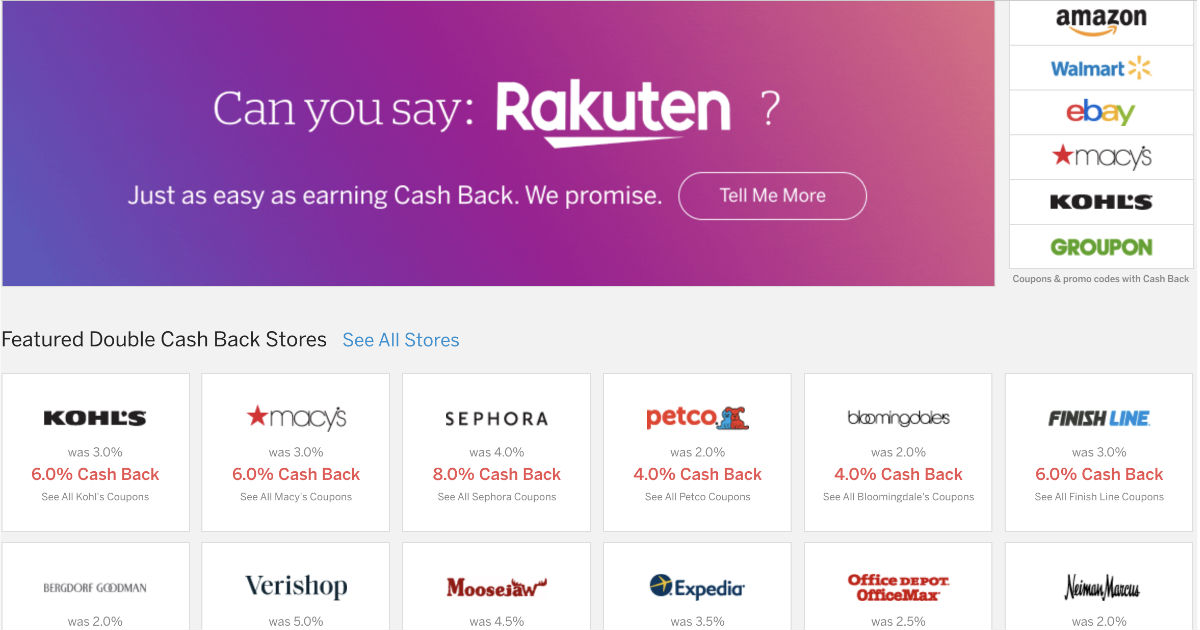 Cómo Funciona Rakuten + Tarjeta de Regalo de $10
