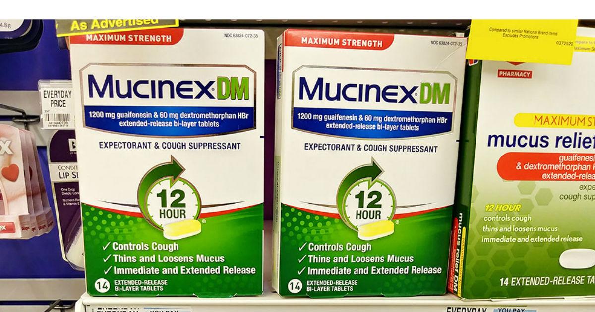 Nuevo Cupón de $5 de Descuento en un Producto Mucinex
