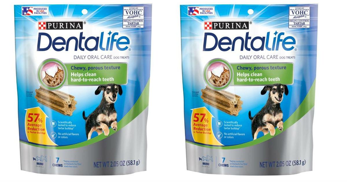 Purina DentaLife Dog Treats GRATIS en Dollar Tree