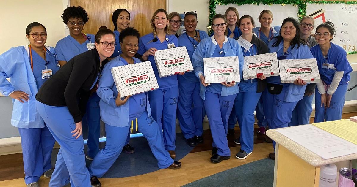 Docena de Donas GRATIS para Trabajadores de la Salud