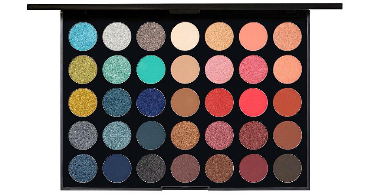 Paleta de Sombras Morphe 35H Hot Spot Artistry SOLO $12 en Ulta (Reg $25)