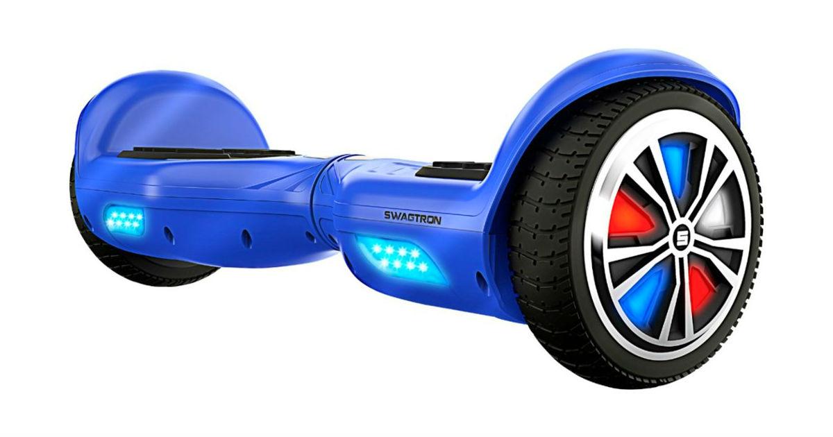Swagtron Hoverboard T882 a solo $99.99 en Best Buy (Reg. $180)