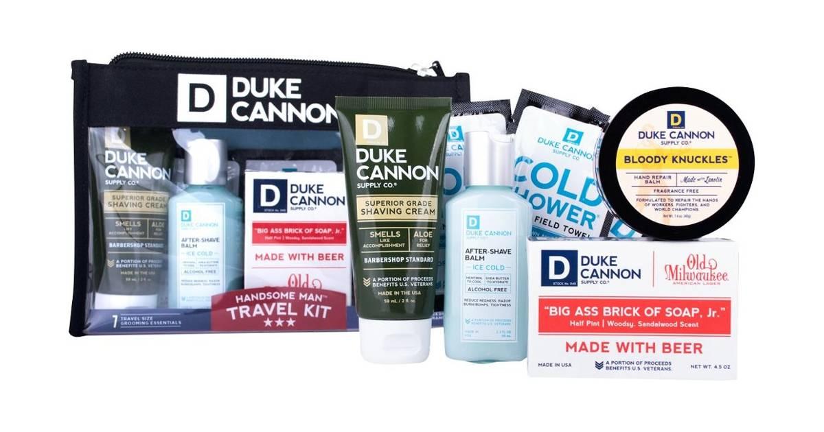 Kit De Viaje Duke Cannon para Hombres a solo $14.99 en Best Buy (Reg. $30)