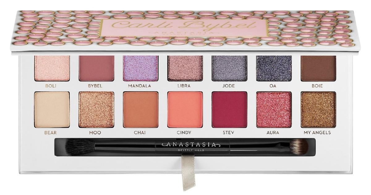 Paleta de Sombras Anastasia Beverly Hills Carli Bybel SOLO $22.50 (Reg $45)