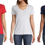 Camisas St. John's Bay V Neck a solo $5.99 (Reg. $14) en JCPenney
