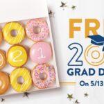 Docena Donas de de Krispy Kreme GRATIS para Graduandos –  HOY 5/13 Solamente