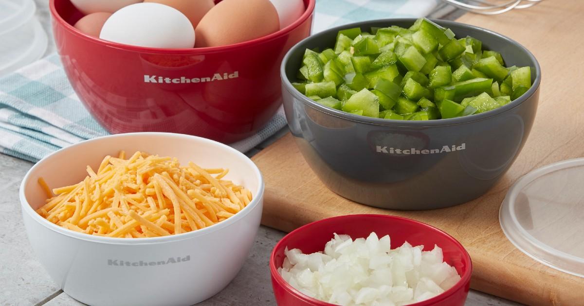 Lee más sobre el artículo Set de Bowl 4-Piezas KitchenAid SOLO $9.97 en Walmart