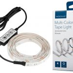 Tira de Luz LED Multi-Color Insignia de 4 pies a solo $19.99 en Best Buy (Reg. $30)