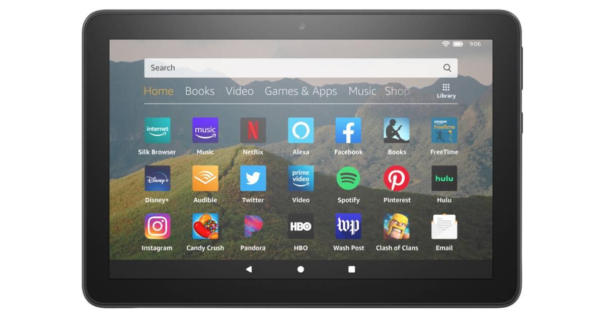 Tableta Amazon Fire HD 8 10th Generation 8″ 32GB SOLO $59.99 en Best Buy