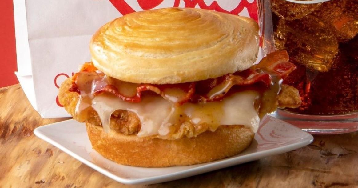 Maple Bacon Chicken Croissant GRATIS con una Compra en la App en Wendy's