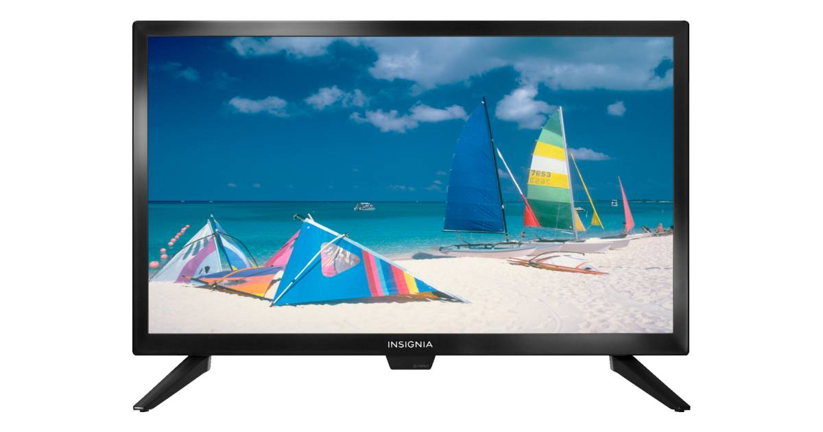 Televisor Insignia HDTV de 22 pulgadas a solo $59.99 en Best Buy (Reg. $120)