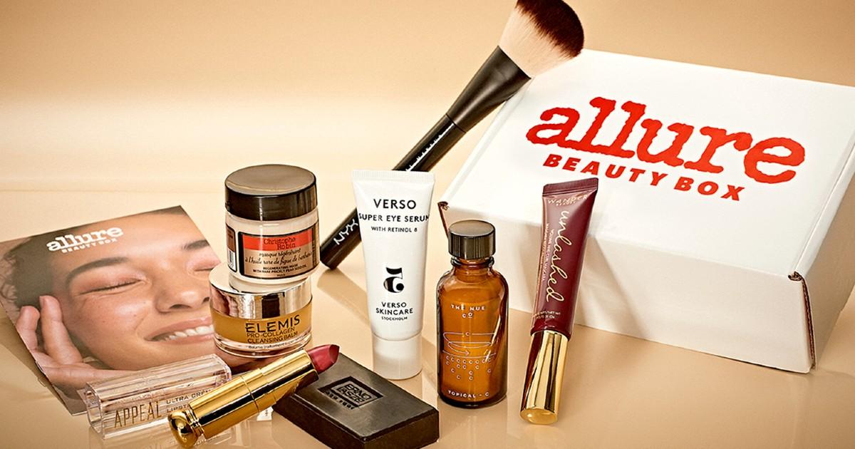 Allure Beauty Box SOLO $23 Con Envío (Valor más de $220) + Regalo GRATIS de Tamaño Completo