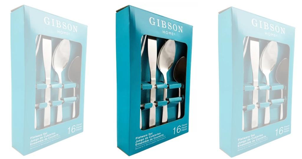 Set de Cubiertos Gibson Miletta Lane 16 Pc a solo $15.99 (Reg. $29)