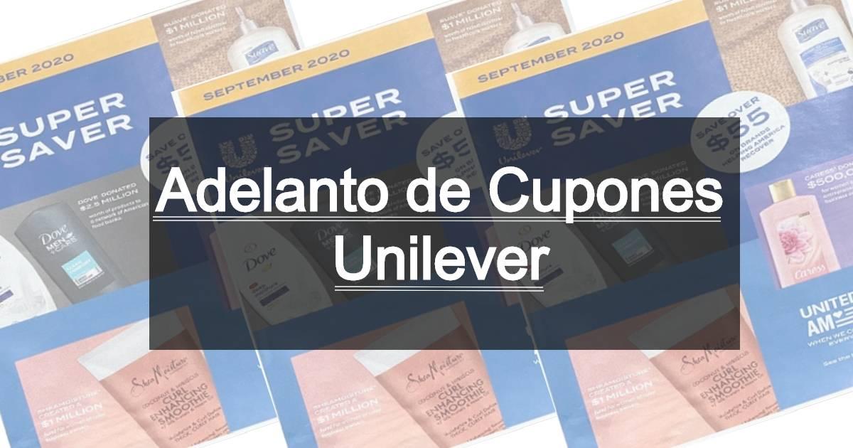 Adelanto de Cupones de Unilever 2/14/21
