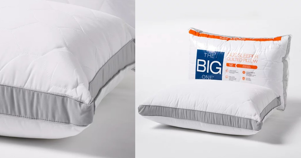 Almohadas Quilted Side Sleeper The Big One a SOLO $8.49 (Reg. $20) en Kohl's