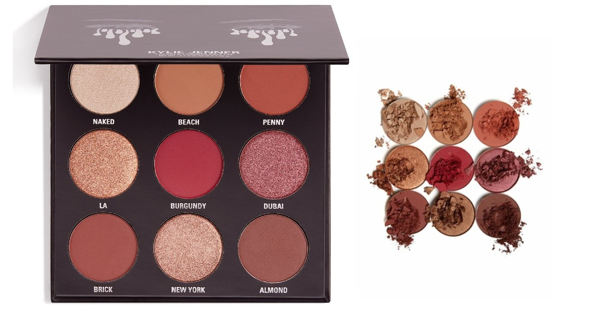 Kylie Cosmetics The Burgundy Palette Kyshadow SOLO $19 (Reg $40)