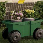 Rolling Garden Tool Cart SOLO $24.99 en Best Buy (Reg $50)