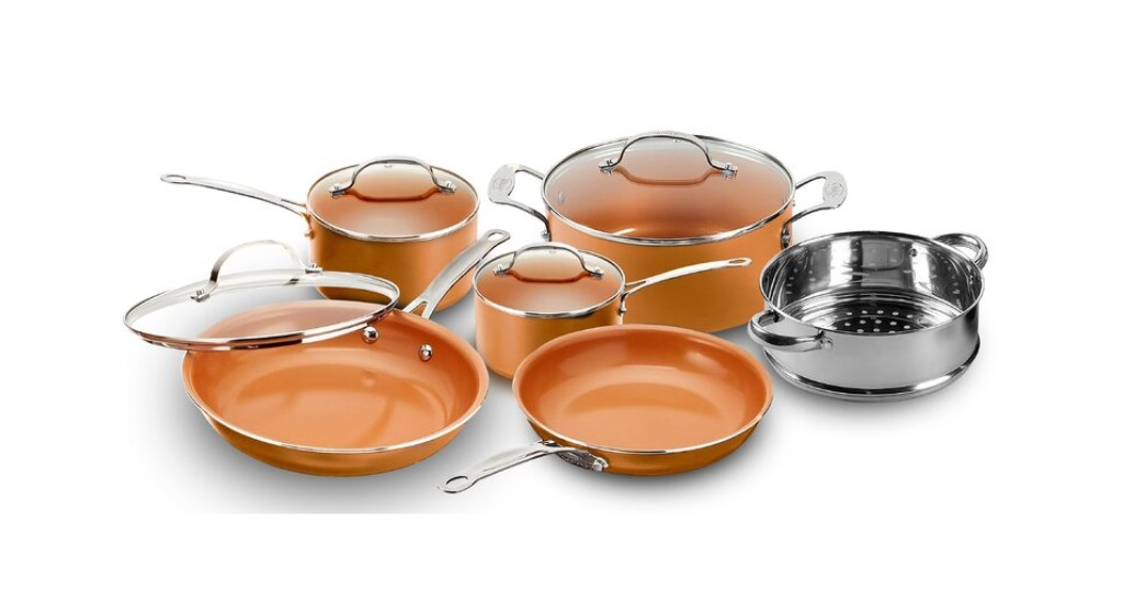 Set de Cocina Gotham Steel Original Copper 10pca SOLO $79.99(Reg. $100) en Wayfair