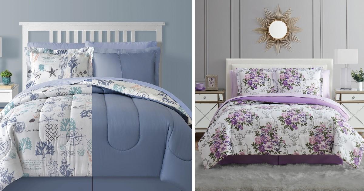Sets de Comforter de 8 piezas SOLO $29.99 en Macy's (reg $100)