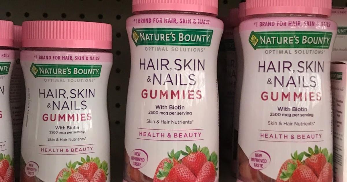 Vitaminas Nature's Bounty Optimal Solutions SOLO  $2.29 en CVS