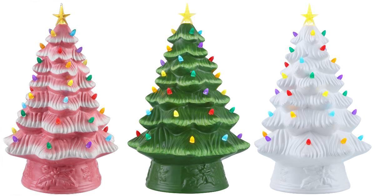 Árbol de Navidad de cerámica