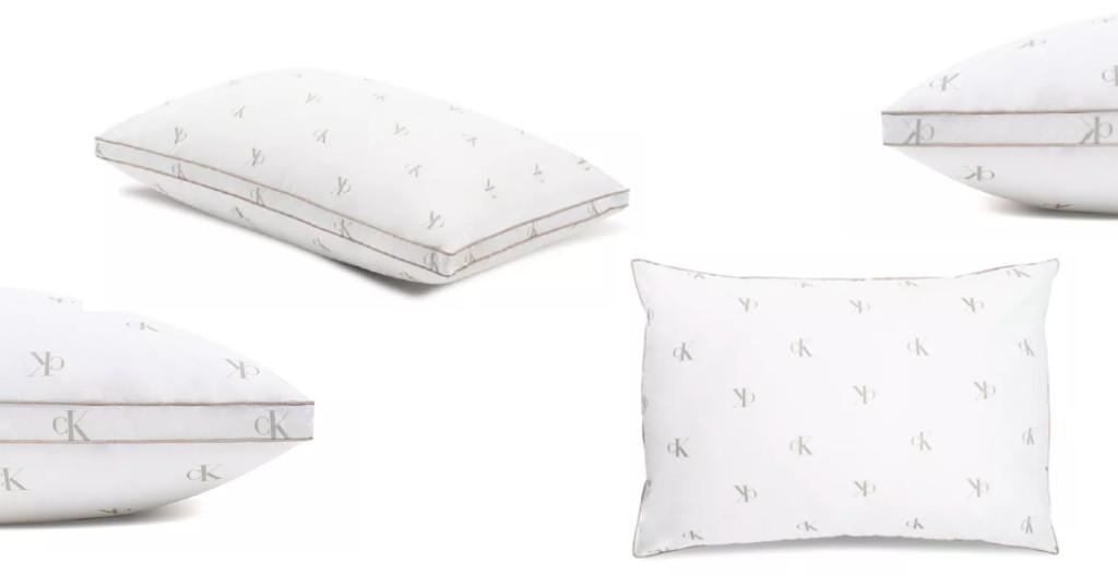 Almohadas Calvin Klein Monogram Logo a solo $6.99 (Reg. $34)en Macy's
