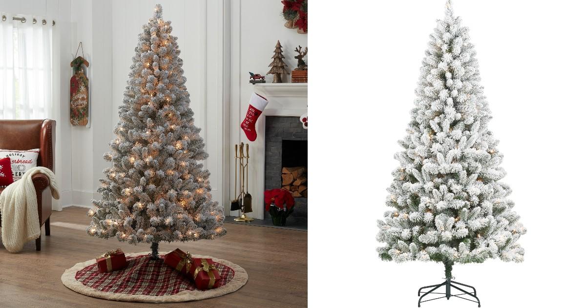 Arbol de Navidad 6.5' Pre-Lit en Walmart
