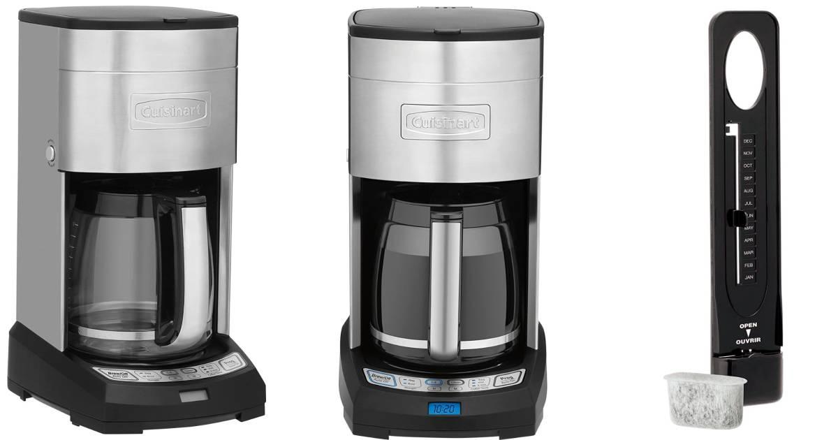 Cafetera Cuisinart con Filtración de Agua a solo $59.99 en Best Buy (Reg. $150)