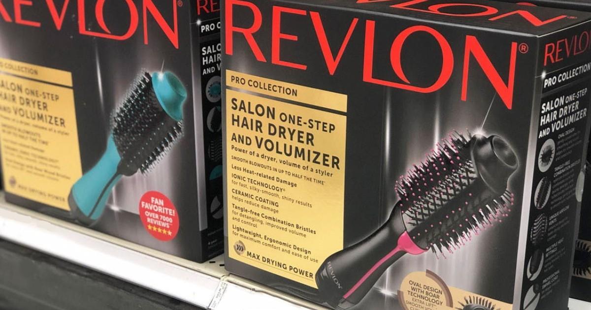 Cepillo Secador Revlon One-Step SOLO $29.39 en Target (Reg $60)