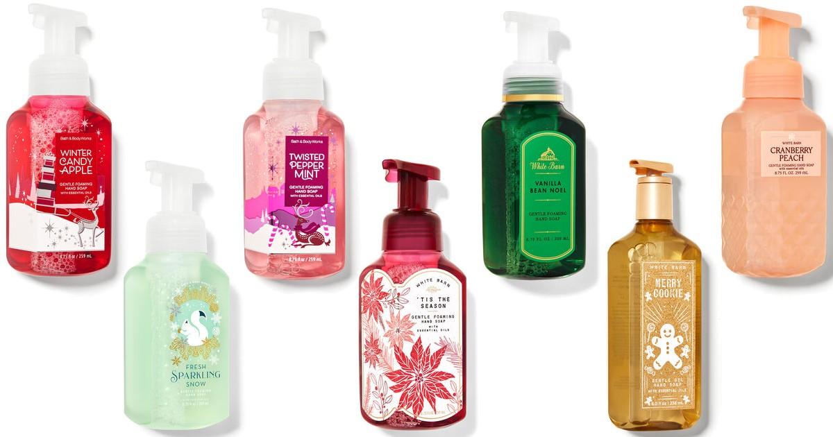 Bath & Body Works: Jabón para Manos SOLO $3.95 (Reg $7.50)