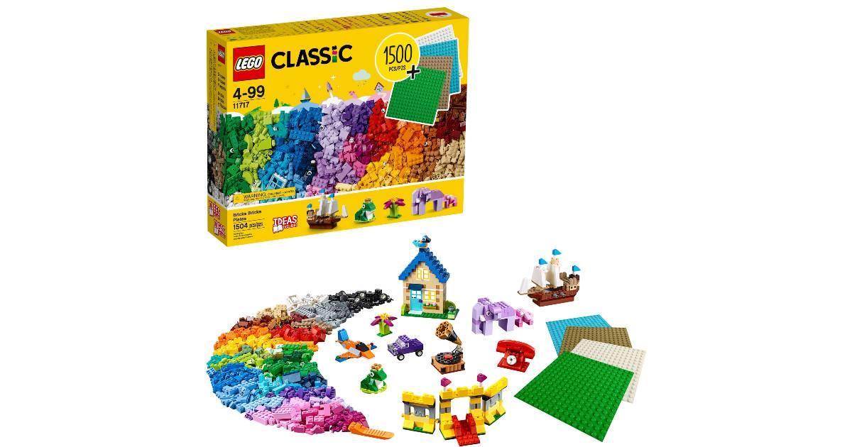 LEGO Classic Bricks 1504 Piezas a solo $39.97 en Walmart (Reg. $70)