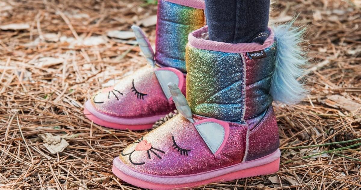MUK LUKS Glitter Zoo Baby Boots en Jane