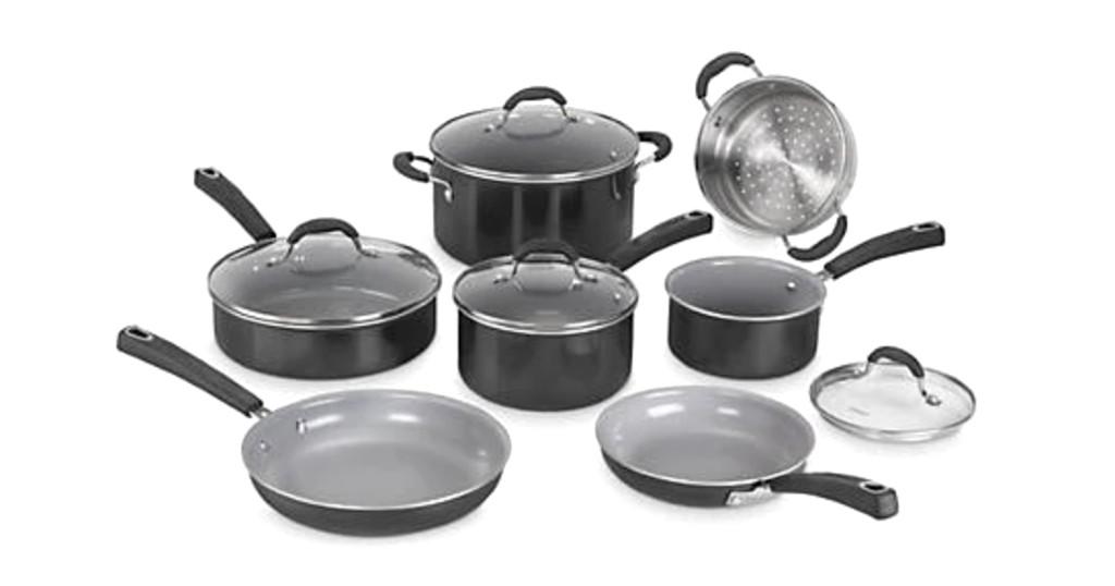 Set de Cocina Cuisinart Advantage Ceramica 11 Piezas para SOLO $99 (Reg. $250)