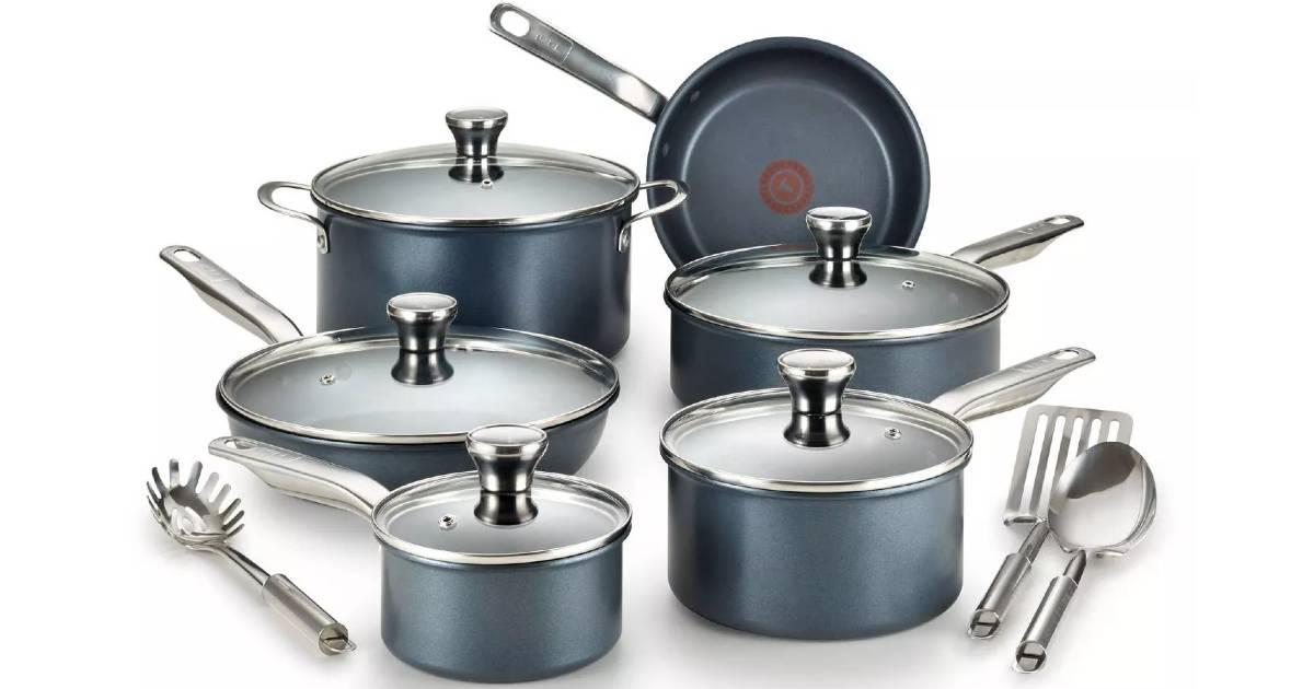 Set de Cocina T-Fal de 14-Piezas a solo $75.99 en Target (Reg. $100)
