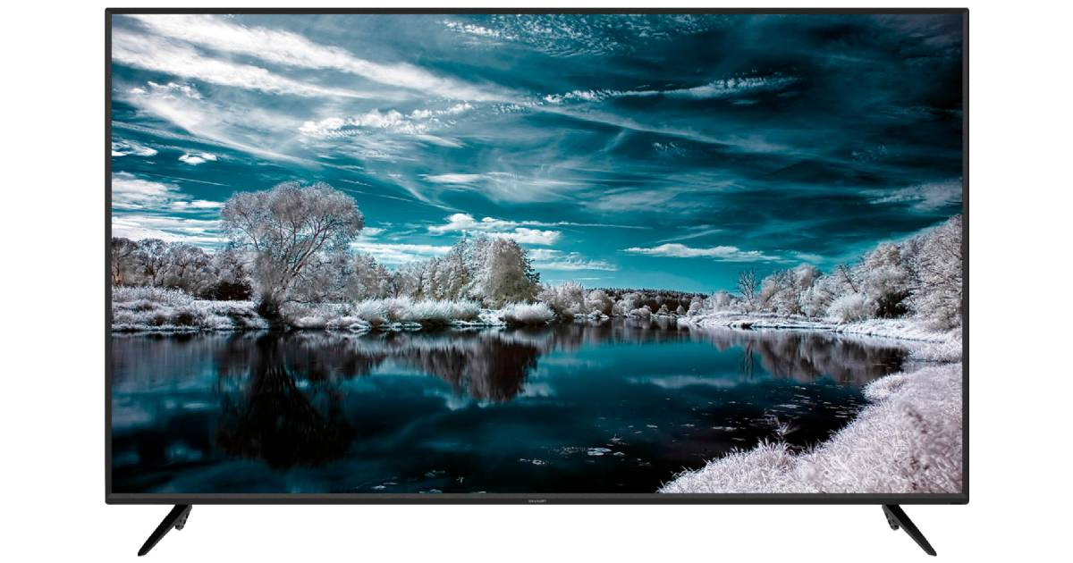 Sharp AQUOS 4K Smart TV 70 pulgadas a solo $499.99 en Best Buy (Reg. $650)