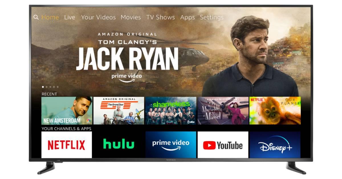 Insignia 39-In HD Smart Fire TV Edition SOLO $99.99 (Reg $230)