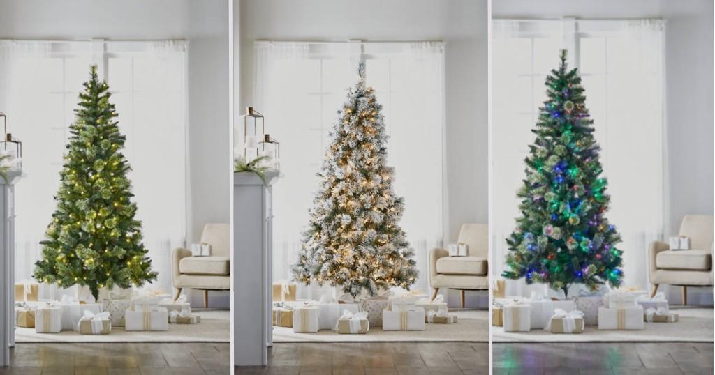 Variedad de Arboles de Navidad Joyland de 7 Pies para SOLO $75 (Reg. $250)