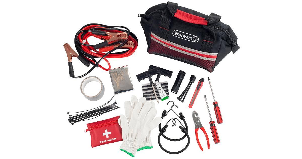Kit de Emergencia en Carretera de 55-Piezas a solo $29.99 en Best Buy (Reg. $40)
