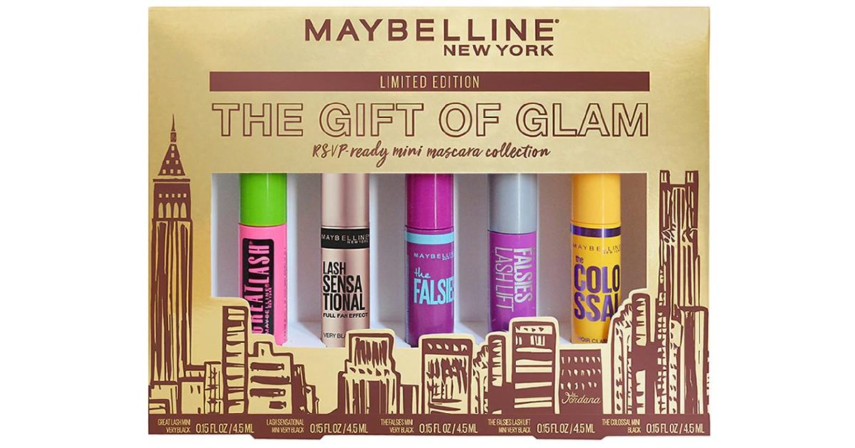 Maybelline Mascara Gift Set de 5-Piezas ONLY $5.49 en Walgreens