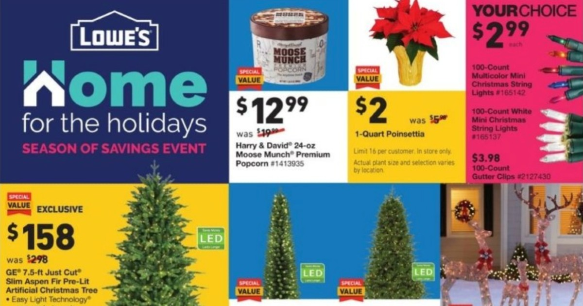 Shopper de Lowe's Black Friday 2020 y Cyber Monday