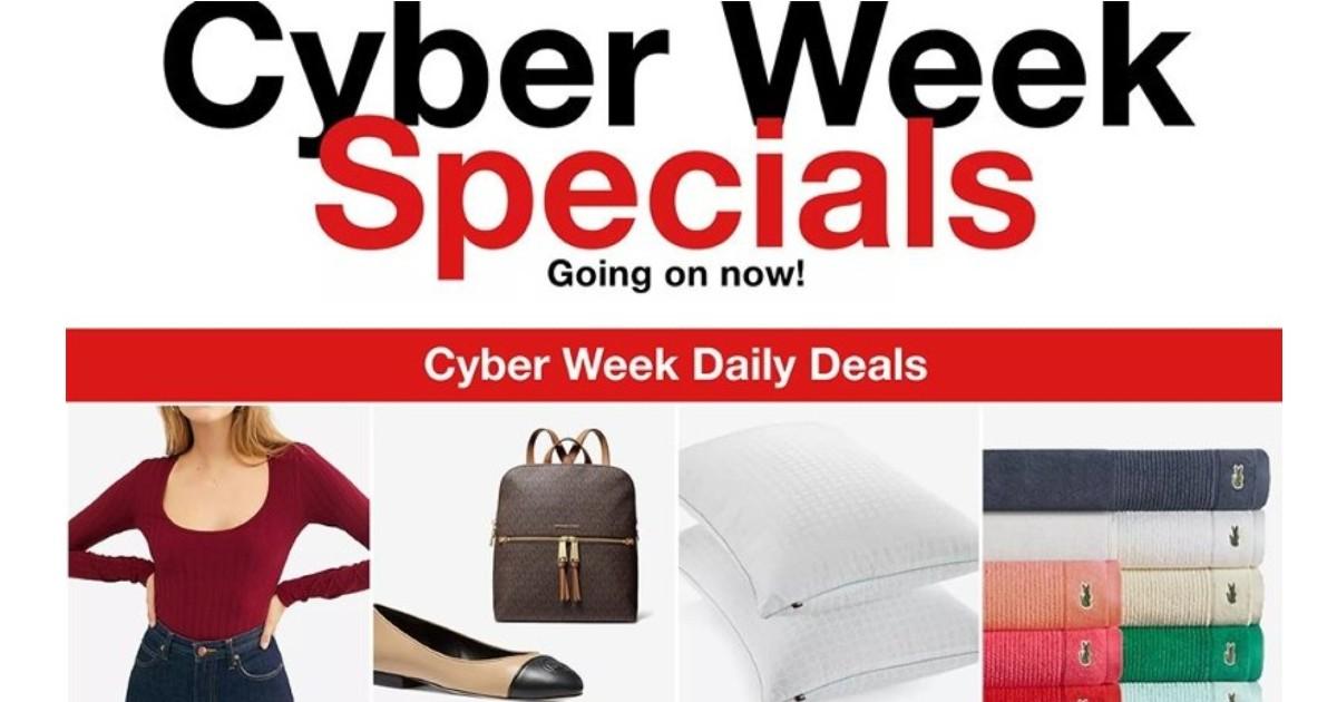 Shopper de Macy's Cyber Monday 2020