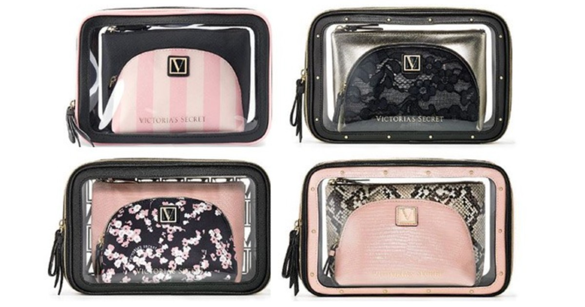 Beauty Bag Trio SOLO $18.99 en Victoria's Secret (Reg $38)