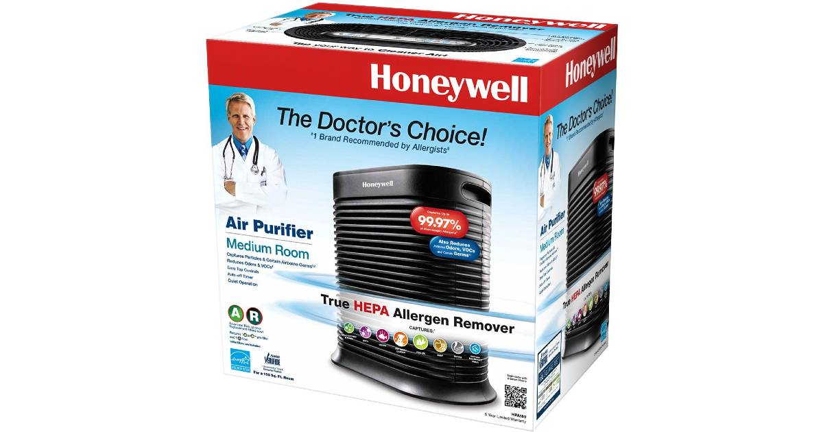 Purificador de Aire Honeywell Home a solo $99.99 en Best Buy (Reg. $140)