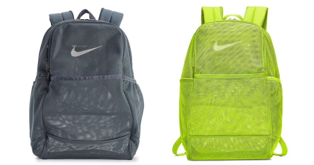 Bulto NIKE Brasilia Mesh Training Backpack a SOLO $22.50 (Reg. $45) en Kohl's