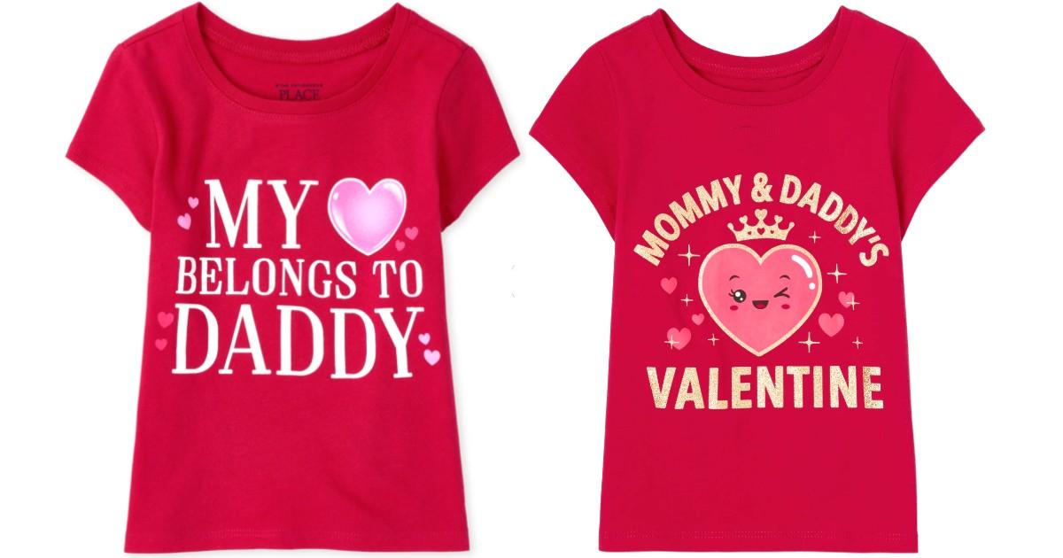 Camisas para Niños de San Valentin SOLO $2.99 en Carter's