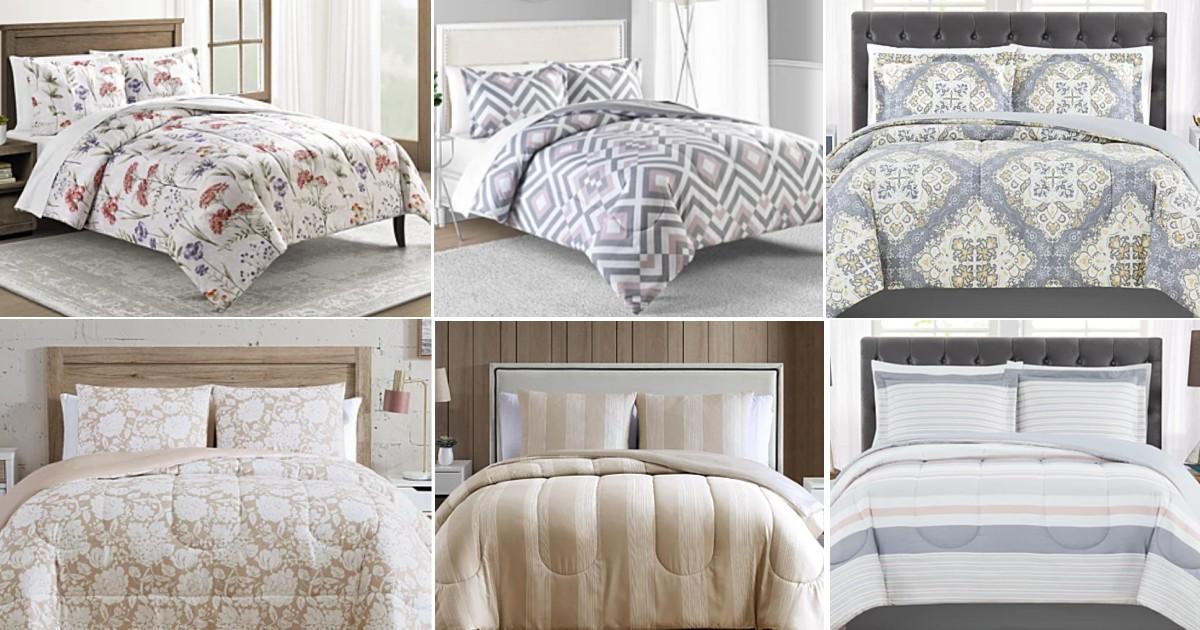Lee más sobre el artículo Sets de Comforter de 3-Piezas SOLO $19.99 en Macy's (reg $80)